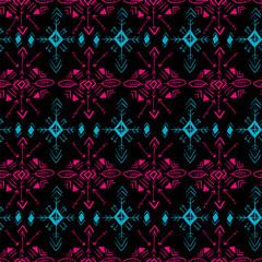 Tribal pattern. Seamless vector.  element.