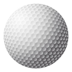 golf ball  symbol icon design. illustration isolated on white background
