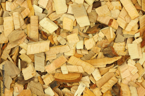 Alder Wood Chips For Smoking Abstract Background Stock Photo And