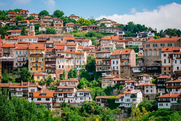 View of Veliko Tarnovo, a city in north central Bulgaria Wall mural