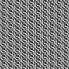 Seamless abstract pattern. Monochrome image. Geometric repeating elements. Vector illustration.
