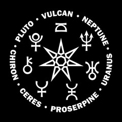 «Septener» of New Age. The Star of Magicians of The New Age. Seven supreme planets of Astrology.