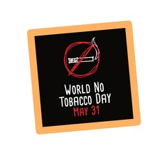Campaign World No Tobacco Day Vector Illustration. Great for Card And Banner.
