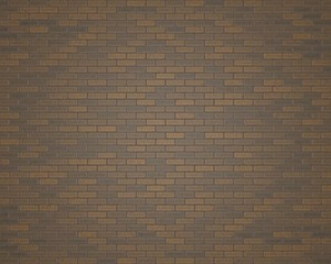 3D rendering grey and brown brickwall