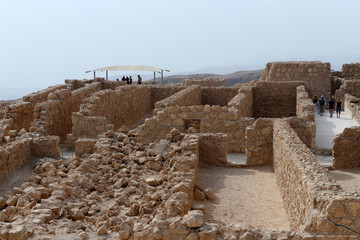 Крепость Масада. Крепостные склады