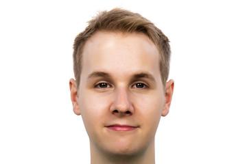 Freisteller Portrait junger Mann