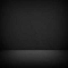 empty interior dark background