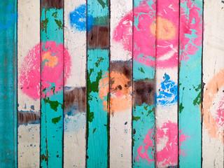 colourful bar backgroud