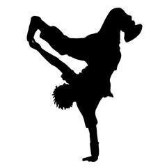 Dance. Street dance. The guy dances breakdance. Sport.