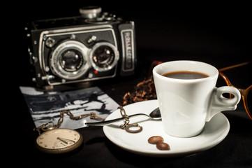 Caffè scenario fotografia