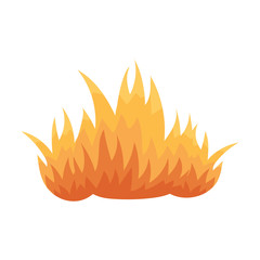 Fire icon cartoon. Single silhouette fire equipment icon from the big fire Department set - stock vecto - stock vecto - stock vector
