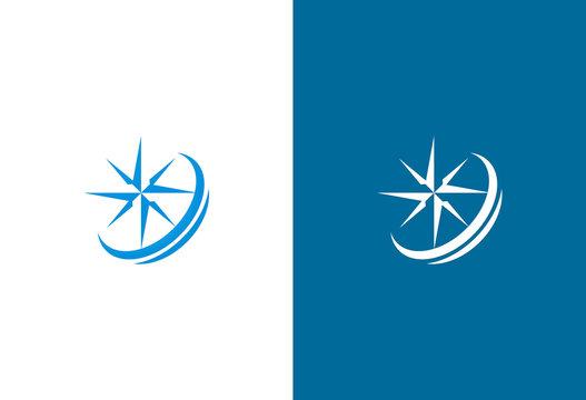 north star vector logo