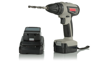 ordless drill screwdriver with drill and charger