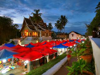 Night market, Luang Prabang, Laos, Vietnam
