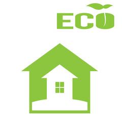 """""""Зеленый дом, экологический натуральный дом  логотип"""""""