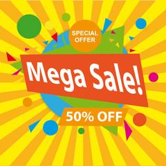 Mega Sale.