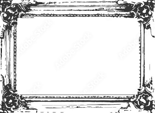 rahmen vektor schwarz wei barock fichier vectoriel libre de droits sur la banque d 39 images. Black Bedroom Furniture Sets. Home Design Ideas