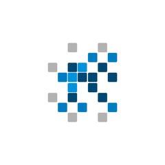 Square Random Pixel