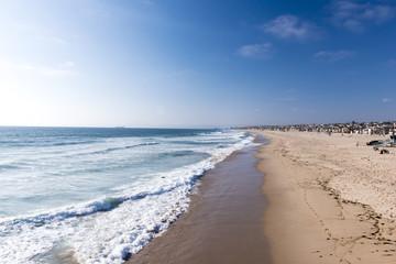 Venice Beach at Santa Monica, Los Angeles, United States