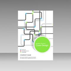 Pipe Vector template brochure