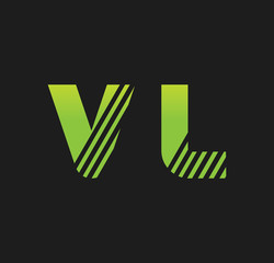 vl initial green with strip
