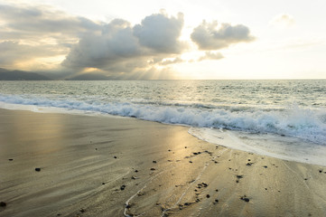 Ocean Sun Beams
