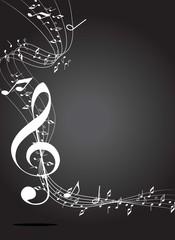 White music key