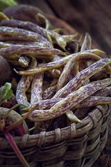 Fresh green string beans