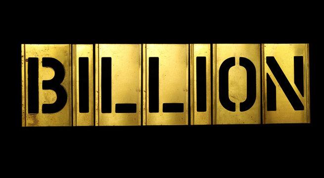 Billion Military Stencil Army Letters