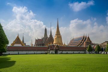 Wat Phra Keow. The royal temple in Bangkok, Thailand