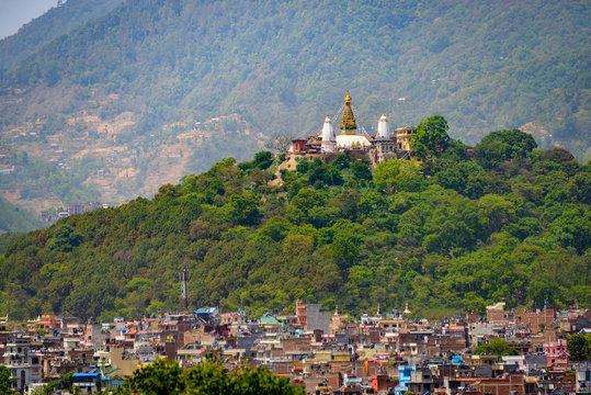 Swayambhunath in Kathmandu, Nepal