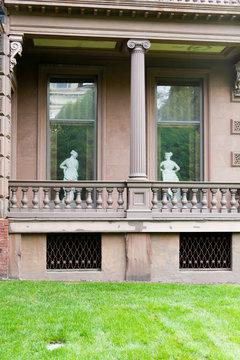 historic Victoria Mansion in Portland, Maine