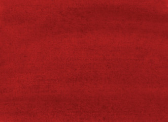 The texture of a sheet of paper painted with burgundy paint