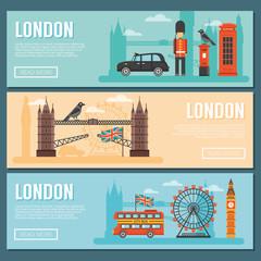 London Banner Set