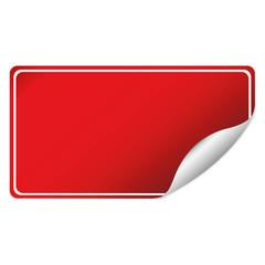 red sticker