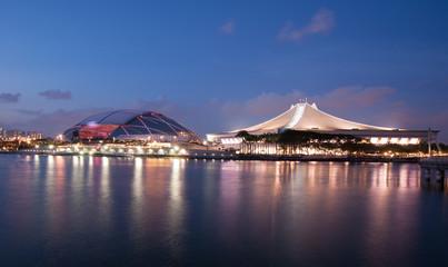 In de dag Stadion Singapore's new National Stadium