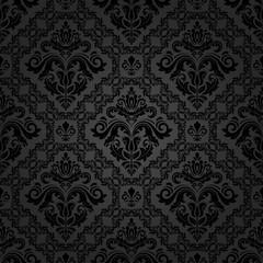 Seamless Vector Damask Pattern