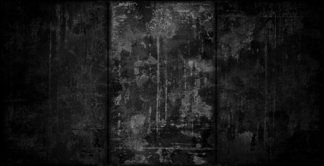 Extra Dark Grungy Metal Background Wall mural