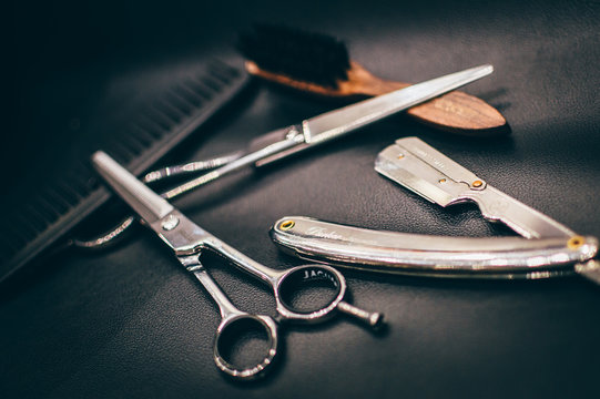 Outils barbier