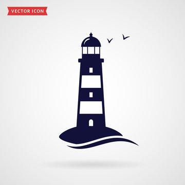 Lighthouse icon.