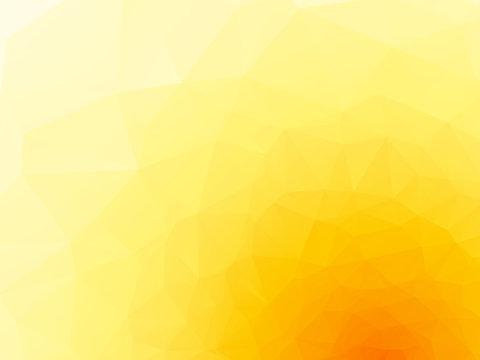 yellow geometric pattern background
