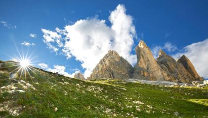 Sommer und Sonne an den drei Zinnen - Dolomiten Ausflug