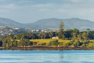 Waitangi treaty grounds in Paihia, Northland, New Zealand