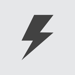 Thunder icon, Vector Thunder icon eps10.