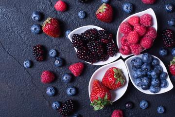 berries : raspberries , blueberries , blackberries , strawberrie