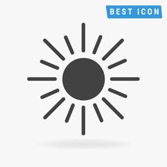 sun Icon, vector icon eps10.