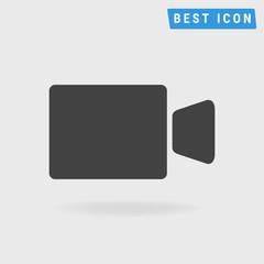 video camera icon, vector icon eps10.