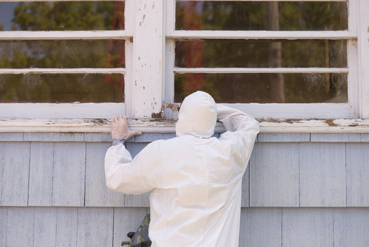 Removing Lead Paint on Window