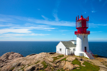 Wall Mural - Lindesnes lighthouse