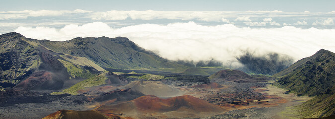 Haleakala Crater in Hawaii